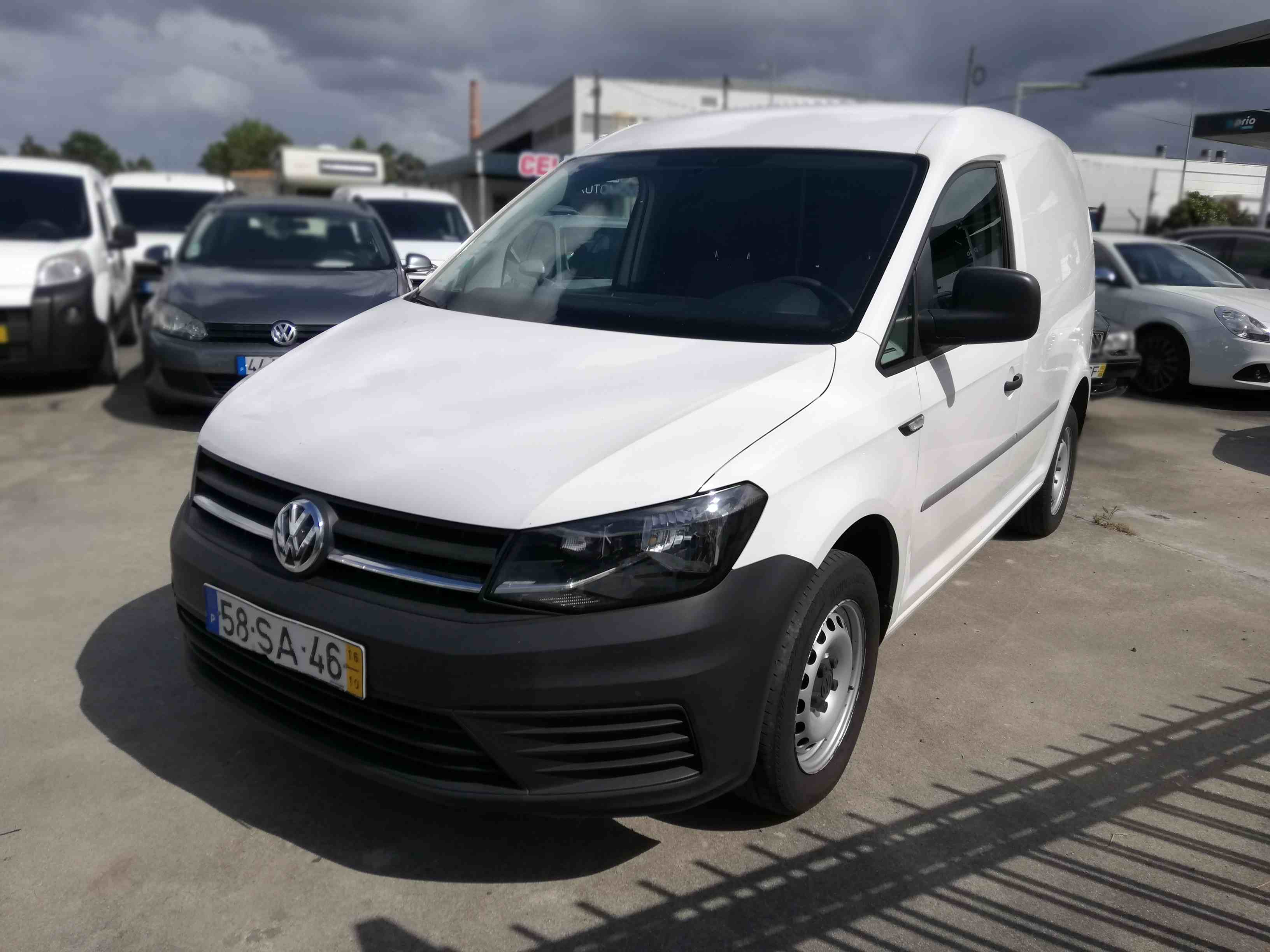 Volkswagen - Caddy 2.0TDI BlueMotion Extra A/C